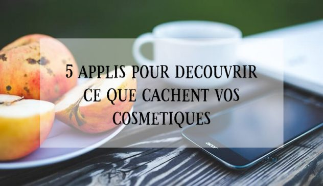 application ingredient cosmetique